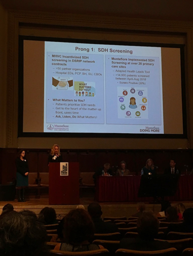 Montefiore at NY SDH Innovations Summit 2018