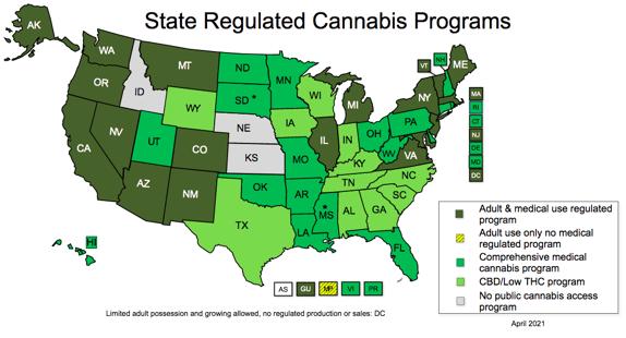 State Regulated Cannabis Programs NCSL